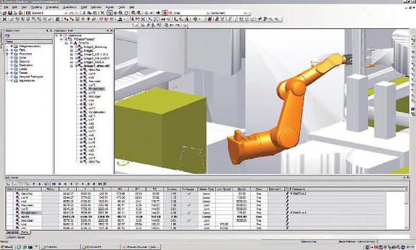 Компания Symax использует моделирование для обнаружения препятствий и столкновений