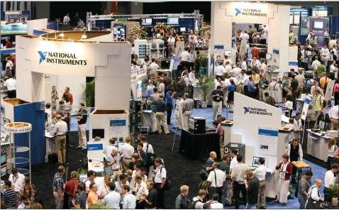 Выставочный павильон конференции NIWeek-2007