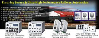Korenix расширяет модельный ряд коммутаторов для применения в системах управления на железнодорожном транспорте