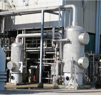 Новый циклический дегидратор на втором заводе позволяет экономить до 228 тыс. БТЕ ежегодно. Информация предоставлена Terra Nitrogen