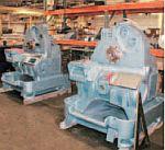 Разобранные станки Acme Gridley готовы к установке нового оборудования Baldor