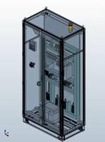 """Проект шкафа электрооборудования, выполненный компанией """"Импульс"""" при помощи модуля EPLAN ProPanel"""