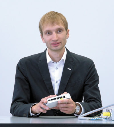 Дмитрий Васильев, руководитель направления «Электроавтоматизация» ООО «ФЕСТО-РФ»