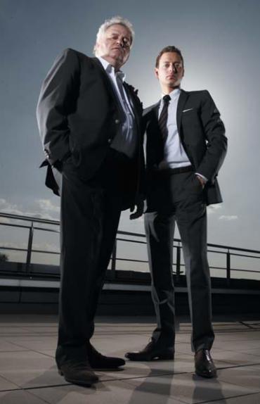 Андреас и Хорст Рапп, совладельцы компании POLYRACK