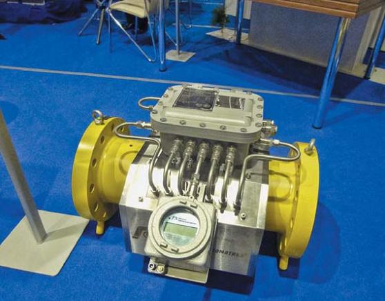 Контрольно-измерительную аппаратуру можно было выбрать на любой размер трубы и давление газа