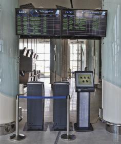 CMT Info kiosk в инфраструктуре аэропорта «Белгород»