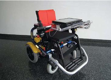 Рис. 10. Кресло для инвалида, реализующее функции assisted robotics
