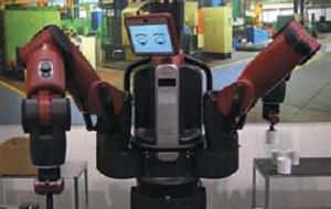 Компания Rethink Robotics предлагает Baxter — простого в программировании и использовании кооперативного робота, который способен безопасно работать в одной зоне с людьми