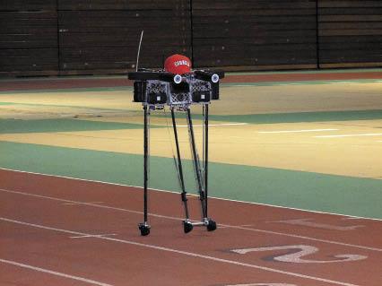 Рис. 2. Робот Рейнджер, придуманный в Университете Корнелл, сумел пройти марафонскую дистанцию без подзарядки