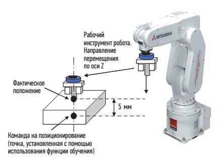Регулирование жесткости манипулятора робота
