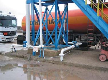 Отгрузка добытой нефти в автотранспорт с применением UFM 3030