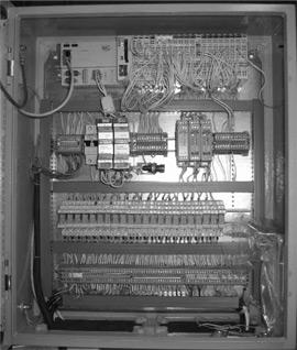 Коммутационный шкаф автоматизированной системы управления «АСУ-Директ» с контроллером ThinkIO-C внутри