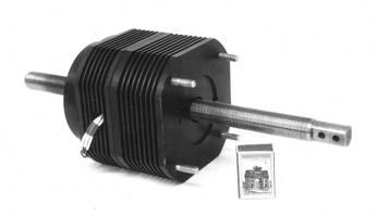 Электропривод линейного движения с моментным двигателем типа ДБМ и радиатором