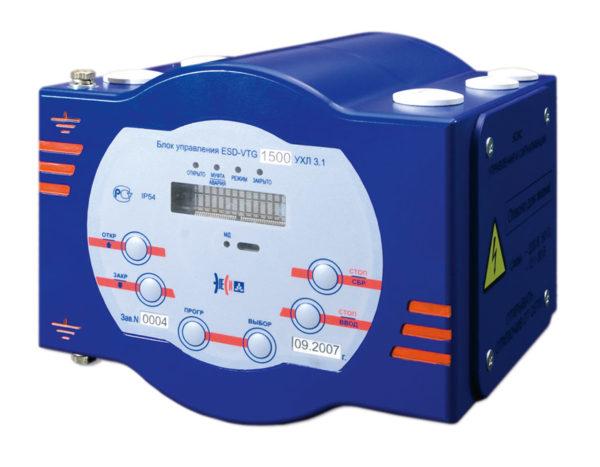 Электронный блок управления ЭП запорно-регулирующей арматуры ESD-VTG