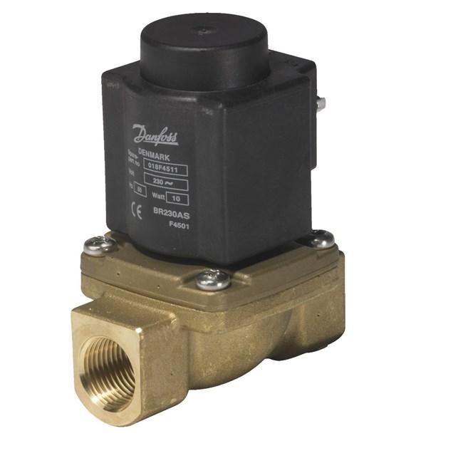 магнитный клапан для паровой установки