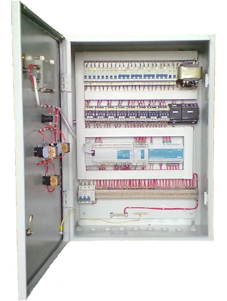 шкаф управления оборудованием вентилируемого прямоточного овощехранилища