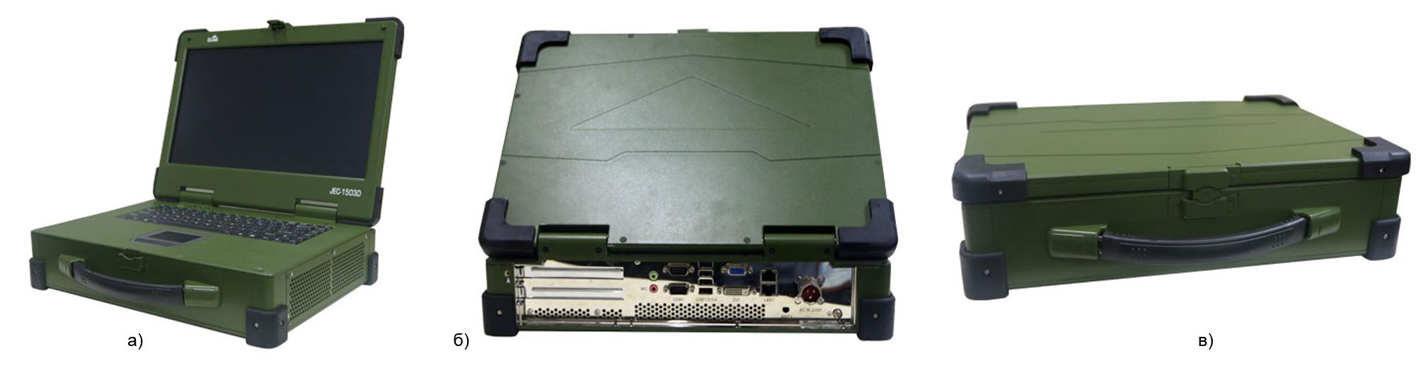 15,6-дюймовая портативная рабочая станция JEC-1503D