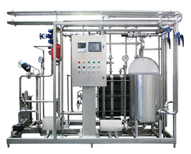 пластинчатой пастеризационно-охладительной установки (ППОУ) для молочных продуктов