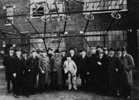 Рис. 2. 23 апреля 1921 г., день приезда Эйнштейна и специалистов из GEC на радиостанцию Маркони
