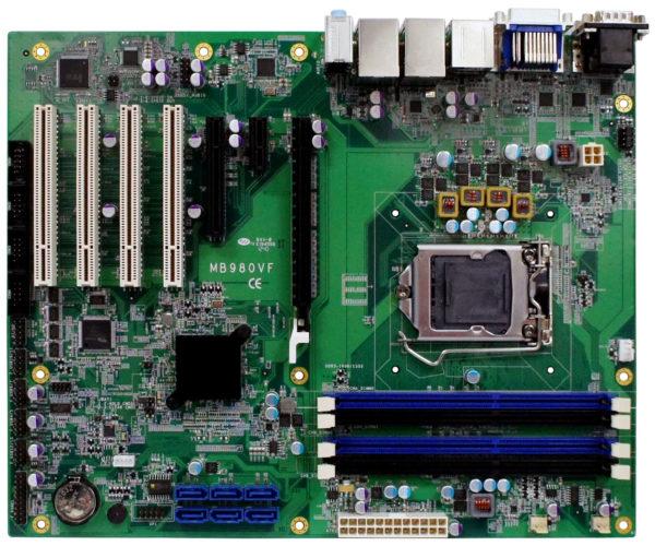 Материнская плата серии MB980 ATX компании iBASE