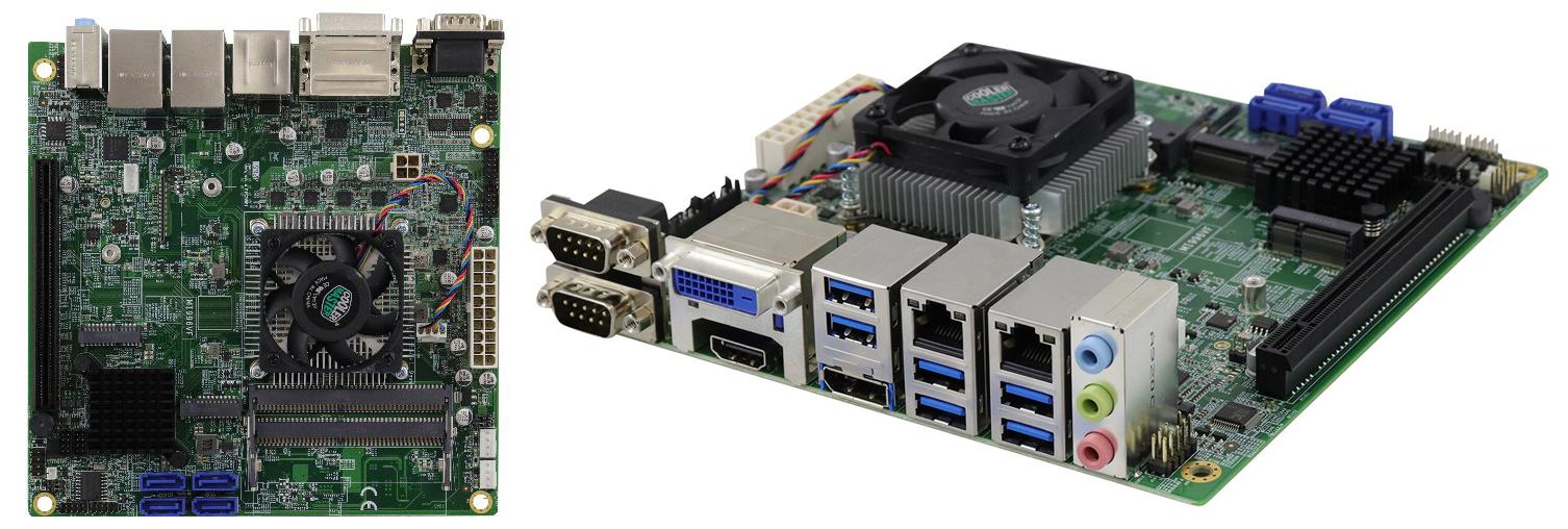 Материнская плата серии MI996 Mini-ITX компании iBASE