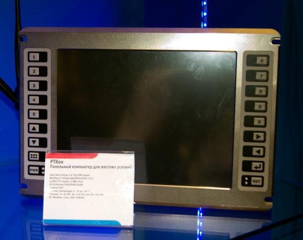 бортовой компьютера «РТКон» класса HMI на платформе COM Express Intel Atom для ответственных приложений