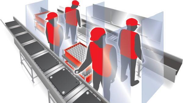 Некоторые руководители предприятий предлагают установить между работниками защитные экраны